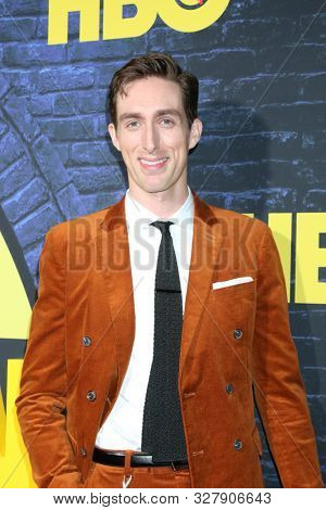 LOS ANGELES - OCT 14:  Dustin Ingram at the HBO's Watchman Premiere Screening at the Cinerama Dome on October 14, 2019 in Los Angeles, CA