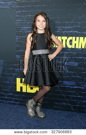 LOS ANGELES - OCT 14:  Lily Rose Smith at the HBO's Watchman Premiere Screening at the Cinerama Dome on October 14, 2019 in Los Angeles, CA