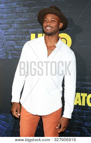 LOS ANGELES - OCT 14:  Charles Brice at the HBO's Watchman Premiere Screening at the Cinerama Dome on October 14, 2019 in Los Angeles, CA