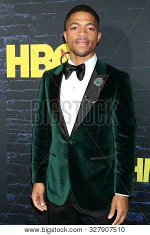 LOS ANGELES - OCT 14:  Steven G. Norfleet at the HBO's Watchman Premiere Screening at the Cinerama Dome on October 14, 2019 in Los Angeles, CA