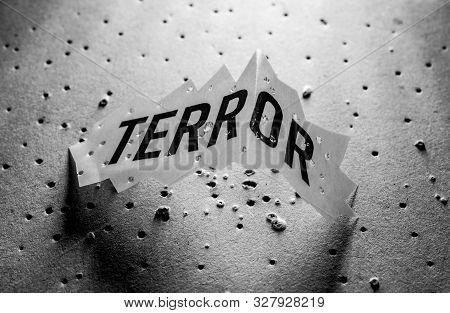 Terror Tag Close Up