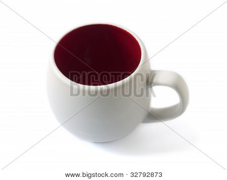 A White Cup