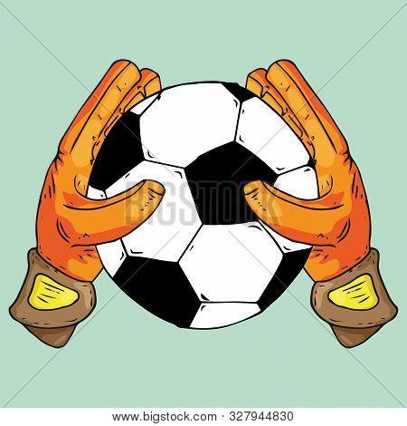 Glove Goalkeeper Icon Vector Photo Free Trial Bigstock