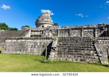 Mayan ruins - astronomical observatory