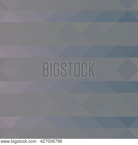 Abstract Geometric Style Background With Vibrant Violet Color Tones.
