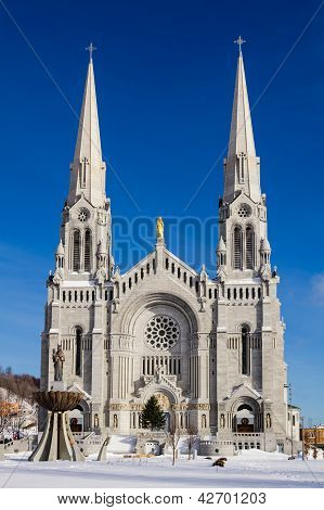 Basilica Of Sainte-anne-de-beaupr�
