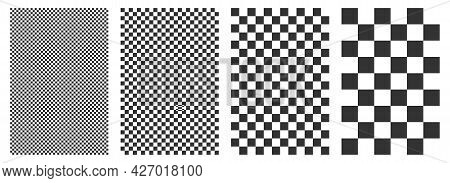 Checkered, Checkered Background. Chess Squares Repeatable Texture. Chess Background Pattern.