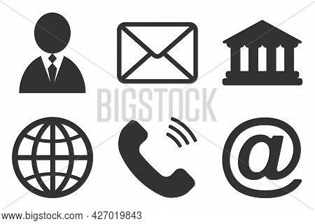 Contact Line Icons. Editable Stroke. Pixel Perfect. For Mobile And Web. Contains Such Icons As Smart