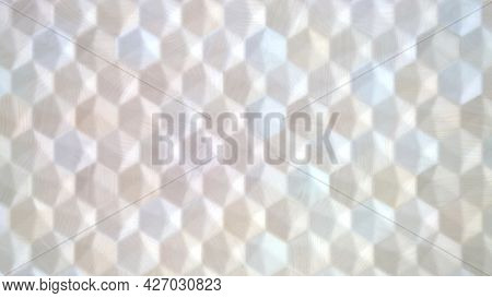 Light Color Texture Of Hexagon Pattern Background