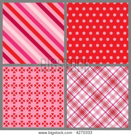 Four Valentine Patterns