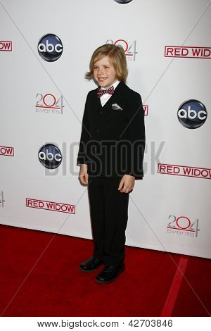 LOS ANGELES - FEB 26:  Jakob Salvati arrives at the ABC's ?Red Widow? event at the Romanov Restaurant Lounge on February 26, 2013 in Studio City, CA
