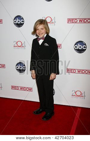 LOS ANGELES - FEB 26:  Jakob Salvati arrives at the ABC's Red Widow event at the Romanov Restaurant Lounge on February 26, 2013 in Studio City, CA