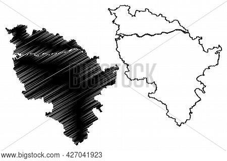 Neuburg-schrobenhausen District (federal Republic Of Germany, Rural District Upper Bavaria, Free Sta
