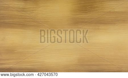 Brushed Iron Sheet Metal Background Imitating Aged Brass.
