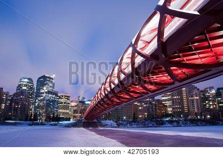 Ponte de paz, Calgary