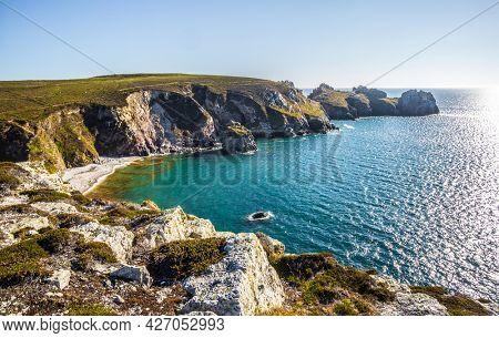 Pointe de Dinan, Crozon peninsula, Departement Finistere, Brittany, France