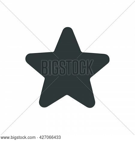 Favorite, Star Icon. Meticulously Designed Vector Eps File.