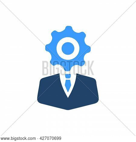 Business Specialist Icon. Meticulously Designed Vector Eps File.