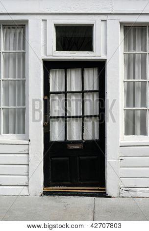 Crooked old door