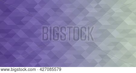 Abstract Geometric Background. Triangular Pixelation. Mosaic, Color Gradient.