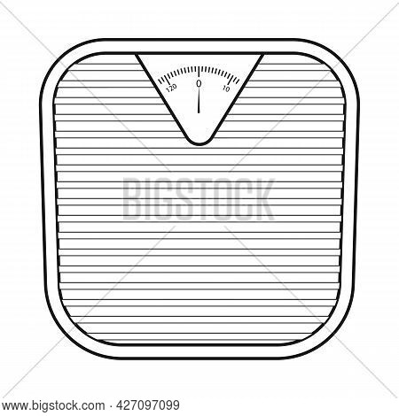 Vector Illustration Of Scales And Diet Icon. Web Element Of Scales And Balance Stock Vector Illustra