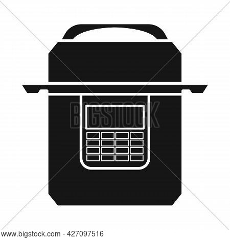 Vector Design Of Multicooker And Cooker Logo. Graphic Of Multicooker And Appliance Stock Vector Illu