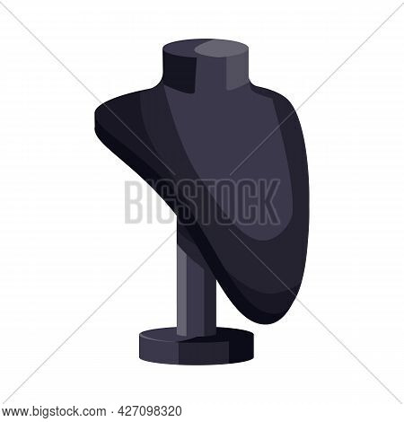 Vector Design Of Dummy And Bust Symbol. Web Element Of Dummy And Female Stock Vector Illustration.