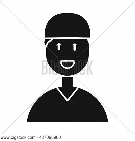 Isolated Object Of Doctor And Surgeon Icon. Set Of Doctor And Professional Stock Symbol For Web.