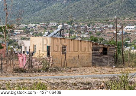 Willowmore, South Africa - April 21, 2021: A Street Scene In A Township In Willowmore In The Eastern