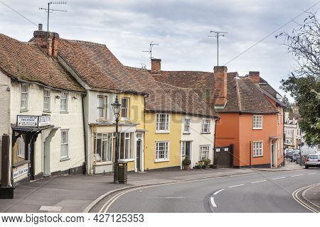 Dunmow, Thaxted, Essex, Uk , Great Dunmow Is An Ancient Market Town In North-west Essex. Traditional