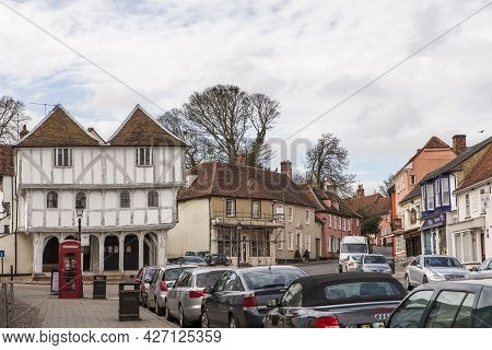 Dunmow, Thaxted, Essex, Uk - September 2019, Great Dunmow Is An Ancient Market Town In North-west Es