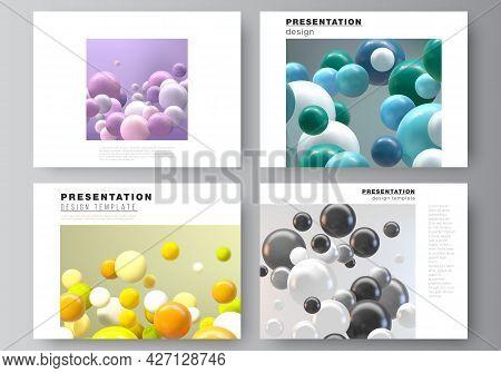 Vector Layout Of Presentation Slides Design Templates, Multipurpose Template For Presentation Brochu