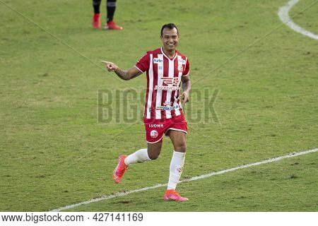 Rio, Brazil - July 18, 2021: Vinicius Player In Match Between Vasco 1 Vs 1 Nautico By 12th Round Of