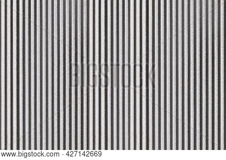 Sliver Painted Galvanized Fence Texture And Background Seamless
