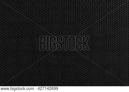 Black Plastic Doormat Texture And Background Seamless