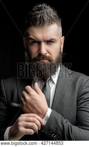 Ready To Biz Work. Business Businessman Analyze Finance. Finance Market Analyst Working. Power Man A