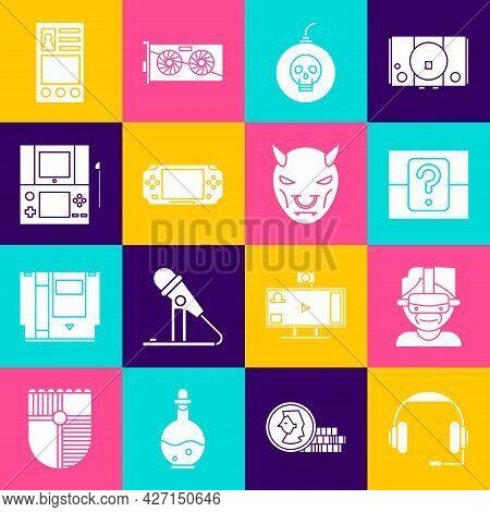 Set Headphones, Virtual Reality Glasses, Mystery Or Random Box, Bomb Ready To Explode, Portable Vide