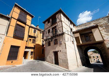 Socorro Square, Segovia, Castilla Y Leon, Spain