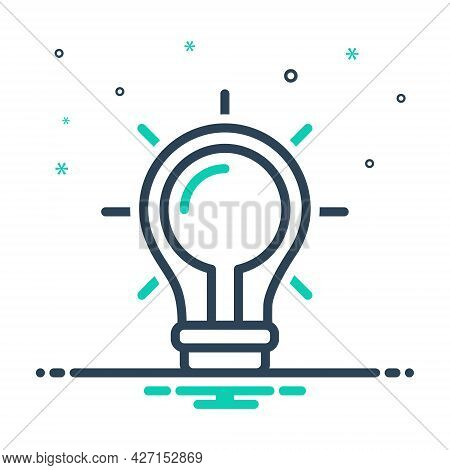 Mix Icon For Find-a-solution Idea Creative Concept Innovate Inspiration Thinking Finding Solution