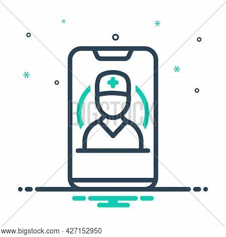 Mix Icon For Mobile-healthcare Mobile Healthcare App Consultation Doctor Medical Urgent