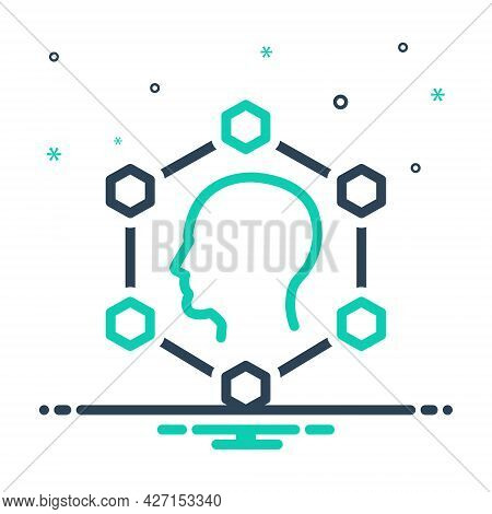 Mix Icon For Planning Smart-ideas Creative Innovation Invention Inspiration Inventiveness Brainstorm