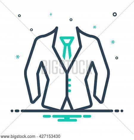 Mix Icon For Formal-wear Uniform Suit Dress Formal Wear Clothes Fashion Garment