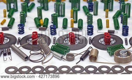 New Coil Springs Spare Parts For Industry Machines