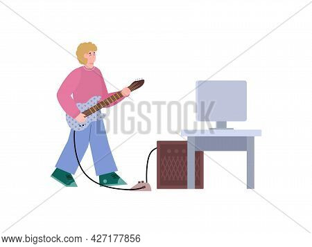 Learning Or Creating Video Online Music Lessons How To Play On Electric Guitar