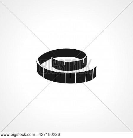 Measurement Transparent Icon. Measurement Transparent Isolated Simple Vector Icon.