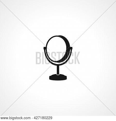Mirror Icon. Mirror Isolated Simple Vector Icon.