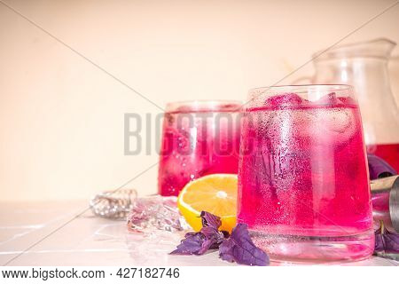 Purple Basil Organic Drink