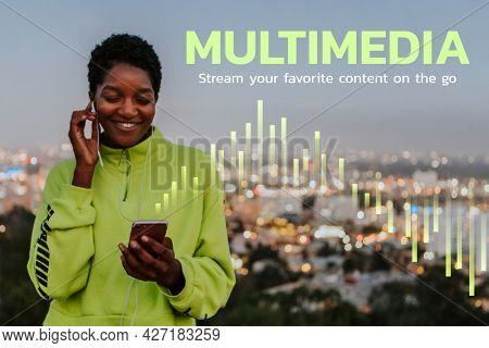 Music multimedia digital lifestyle blog banner
