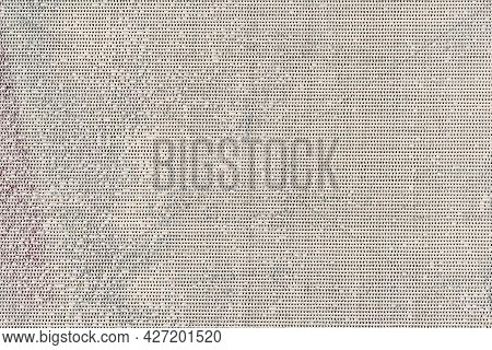 Texture Of Dirty Canvas, Sackcloth, Colorful Stains, Vintage Background