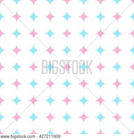 Vector Trendy Seamless Pattern - Delicate Design. Colorful Repeatable Fashion Background